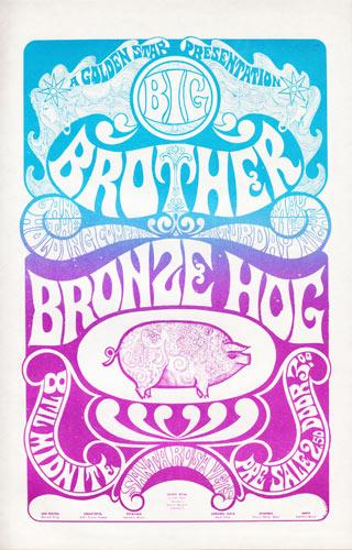 Golden Star Presents Big Brother in Santa Rosa Handbill Handbill