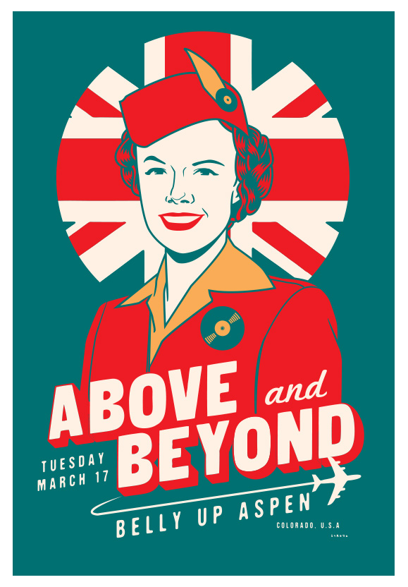 Scrojo Above and Beyond Poster