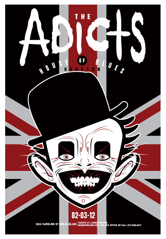Scrojo The Adicts Poster