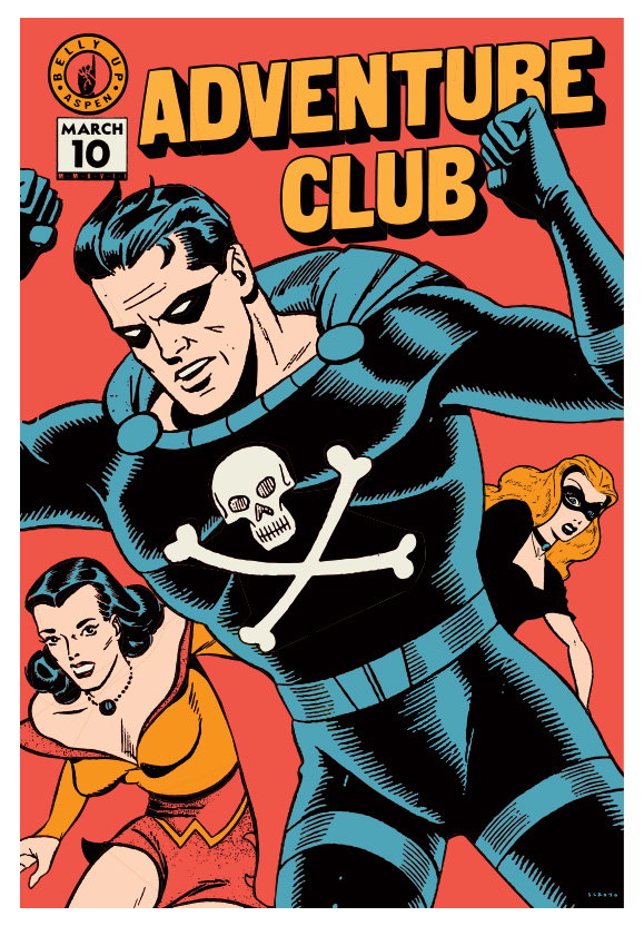 Scrojo Adventure Club Poster