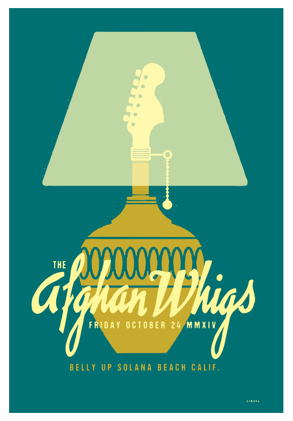 Scrojo The Afghan Whigs Poster