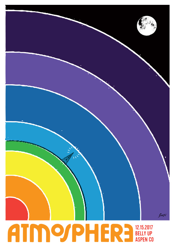 Scrojo Atmosphere Poster
