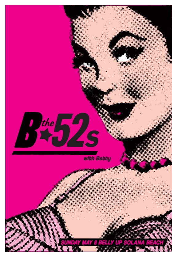 Scrojo The B-52's (B-52s) Poster