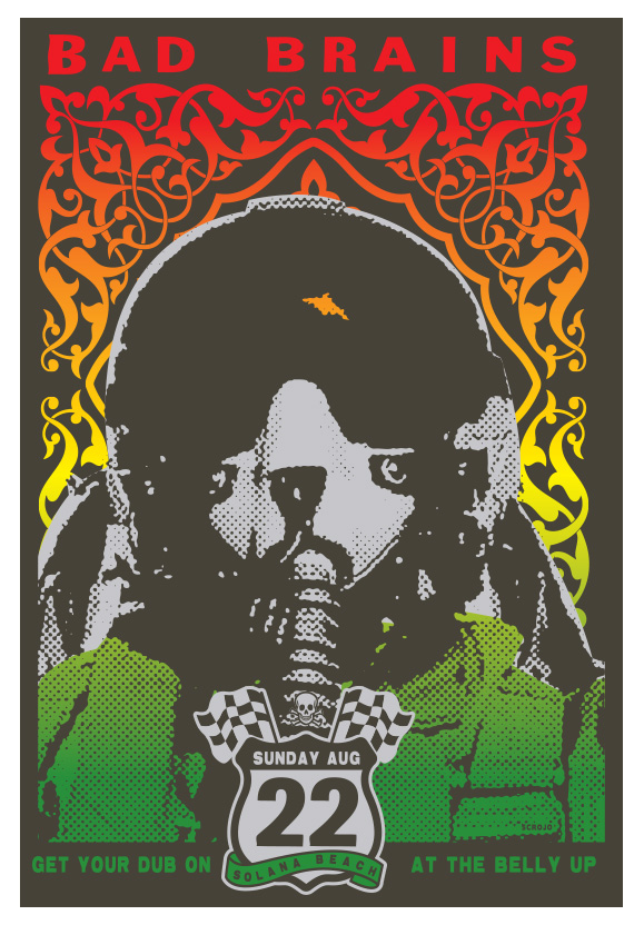 Scrojo Bad Brains Poster