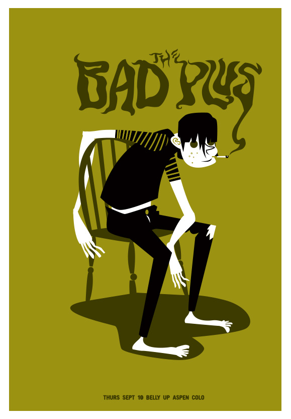 Scrojo The Bad Plus Poster