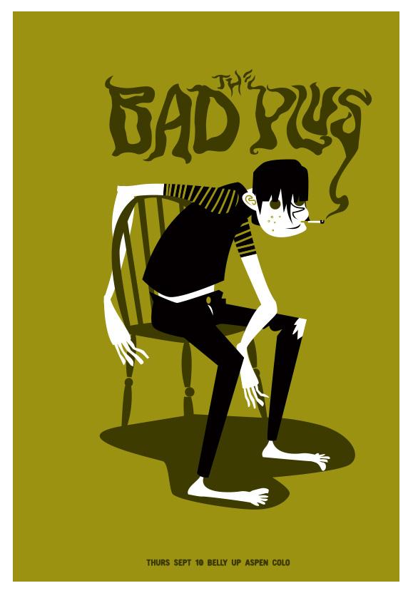 Scrojo The Bad Plus Poster