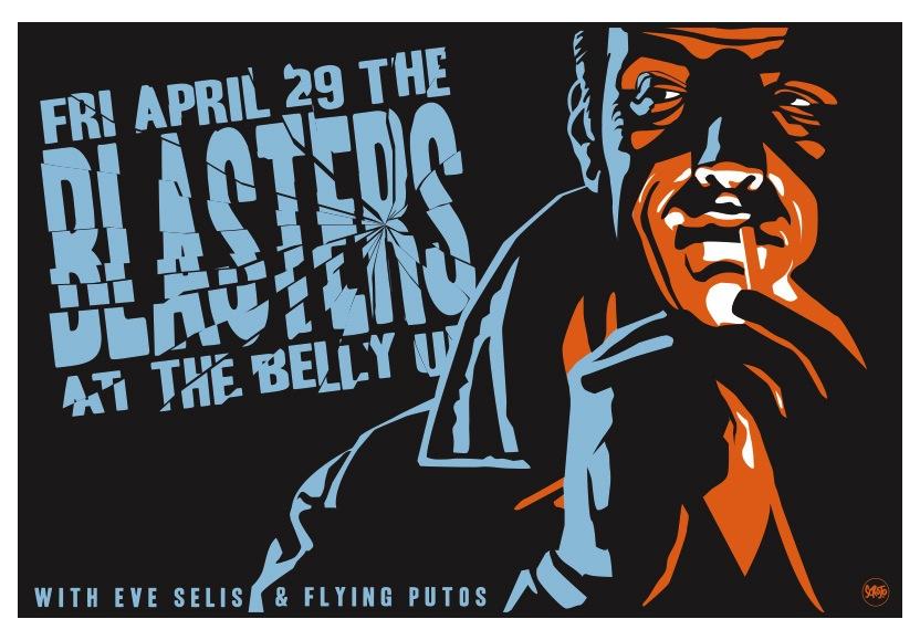 Scrojo Blasters Poster