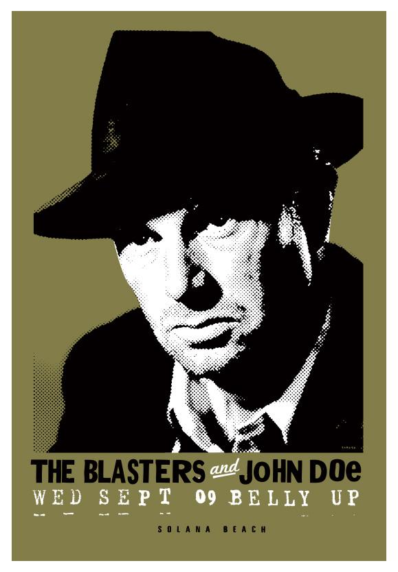 Scrojo The Blasters Poster