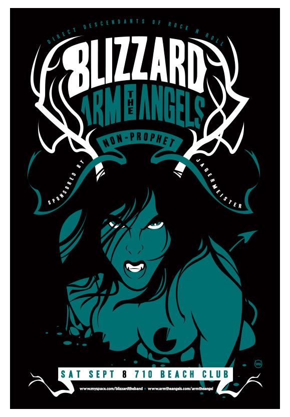 Scrojo Blizzard Poster