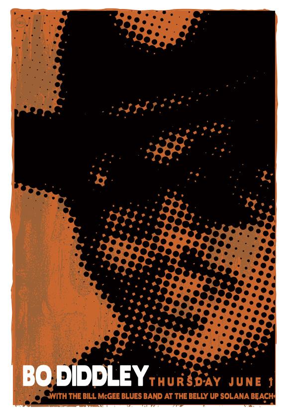 Scrojo Bo Diddley Poster