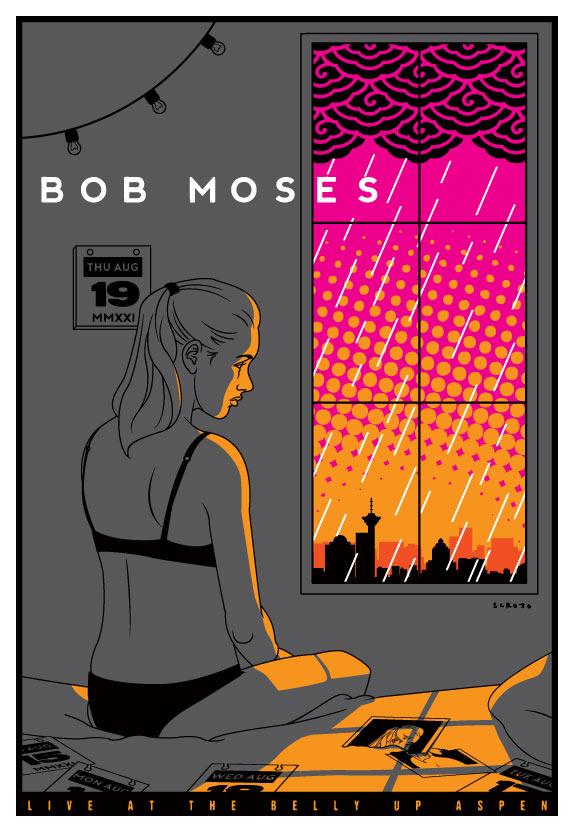 Scrojo Bob Moses Poster