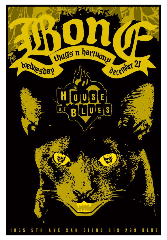 Scrojo Bone Thugs-N-Harmony Poster