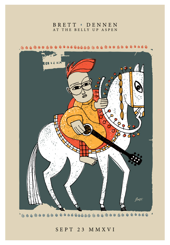 Scrojo Brett Dennen Poster