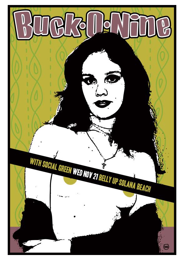 Scrojo Buck-O-Nine Poster