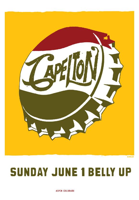 Scrojo Capleton Poster