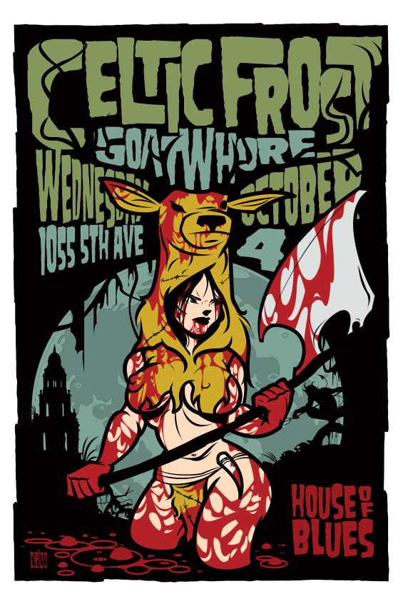 Scrojo Celtic Frost Poster