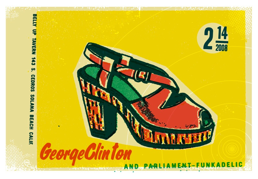 Scrojo George Clinton and Parliament-Funkadelic Poster
