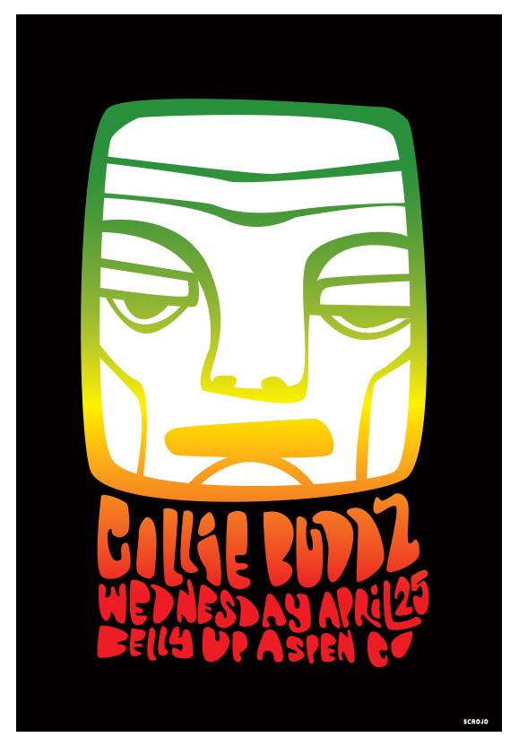 Scrojo Collie Buddz Poster