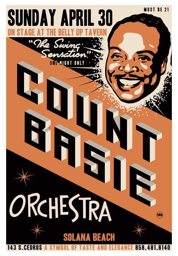 Scrojo The Count Basie Orchestra Poster