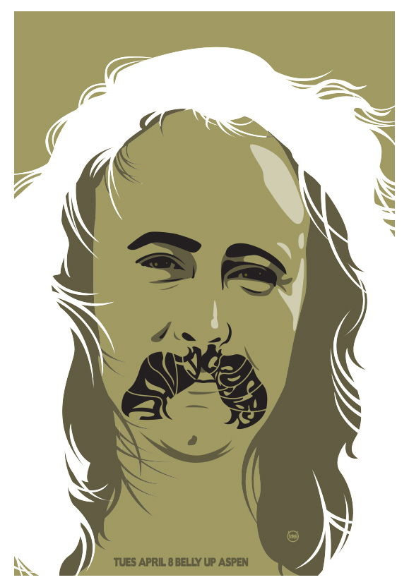 Scrojo David Crosby Poster