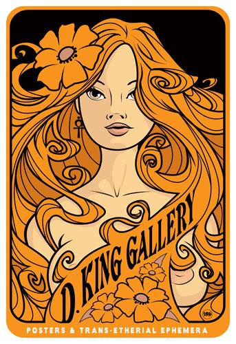 Scrojo D.King Gallery Poster