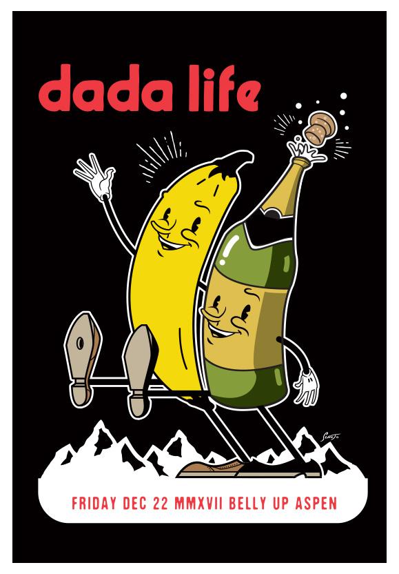 Scrojo Dada Life Poster