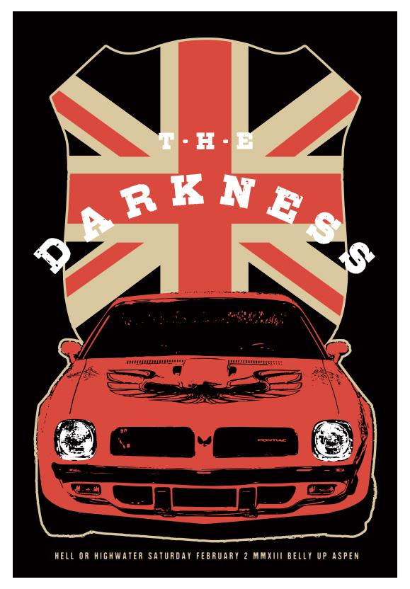 Scrojo The Darkness Poster