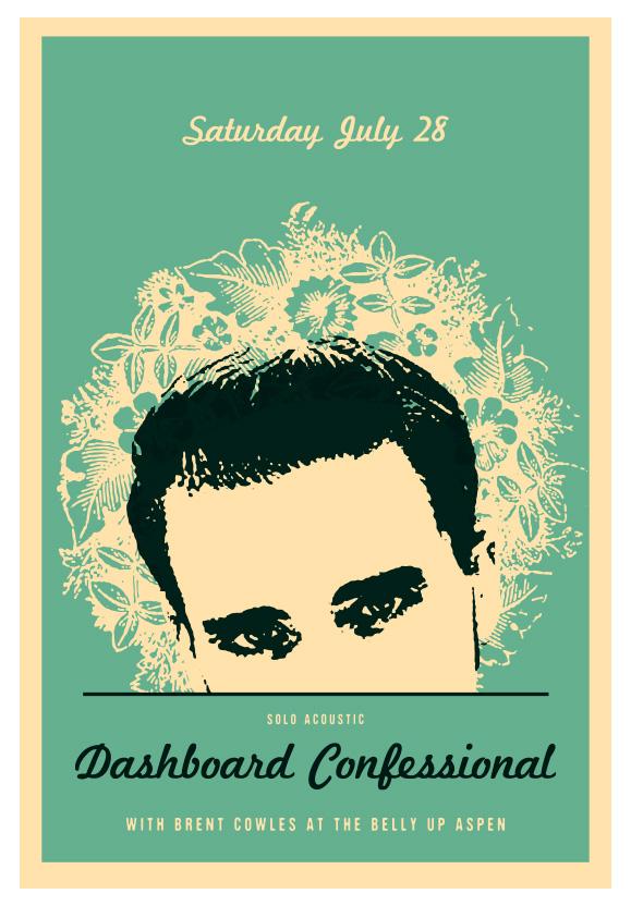 Scrojo Dashboard Confessional Poster