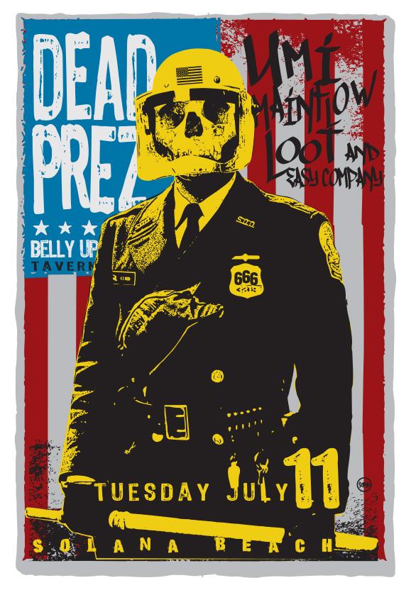 Scrojo Dead Prez Poster