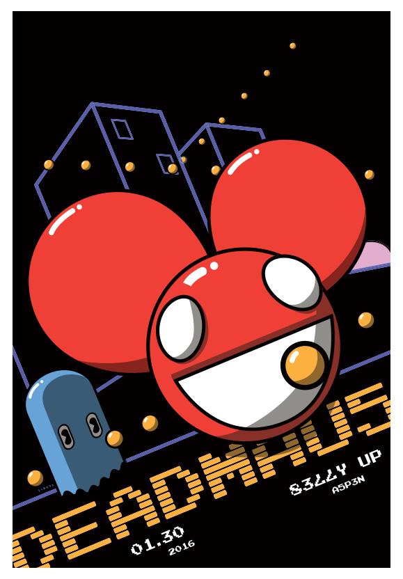 Scrojo Deadmau5 (Deadmaus) Poster