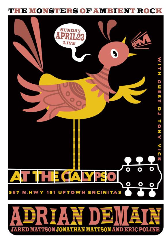 Scrojo Adrian Demain Poster