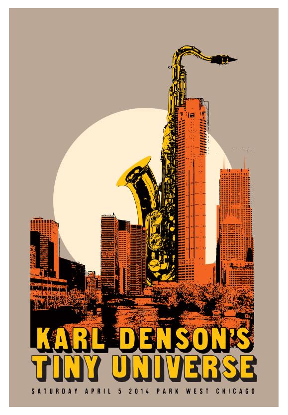 Scrojo Karl Denson's Tiny Universe Poster