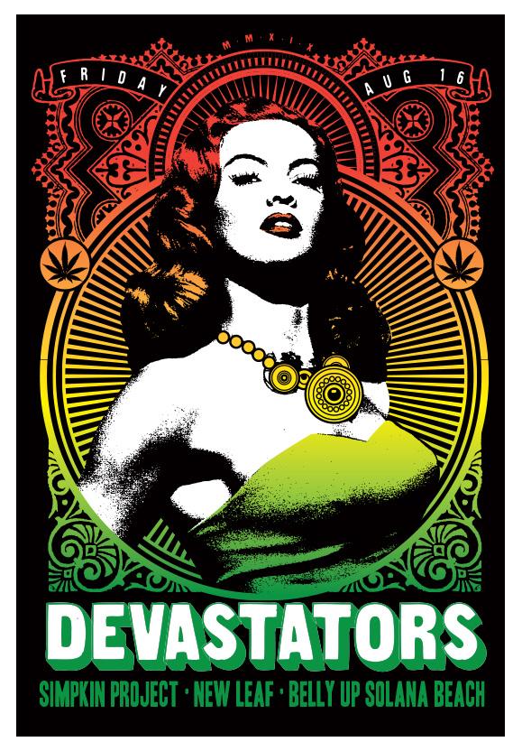 Scrojo Devastators Poster