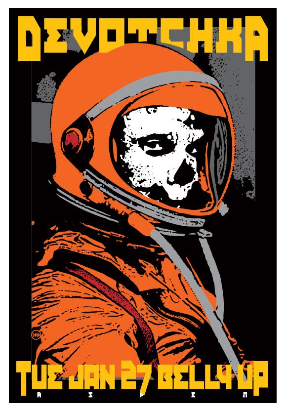 Scrojo Devotchka Poster