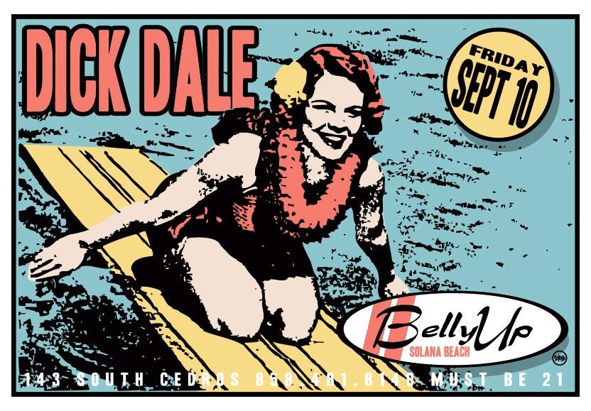 Scrojo Dick Dale Poster