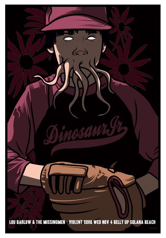 Scrojo Dinosaur Jr. Poster