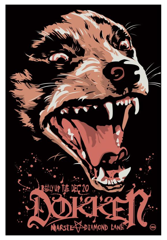 Scrojo Dokken Poster