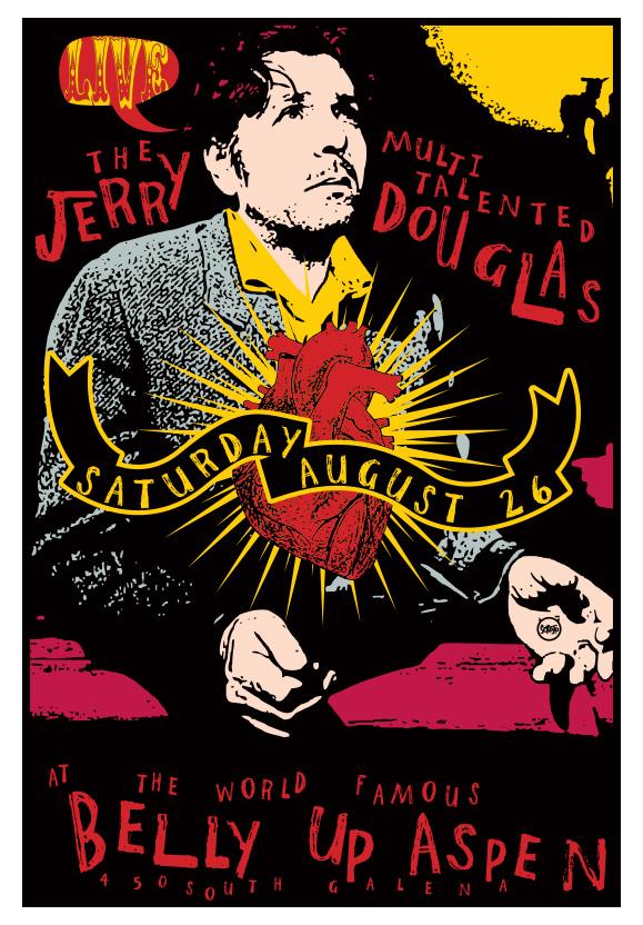 Scrojo Jerry Douglas Poster
