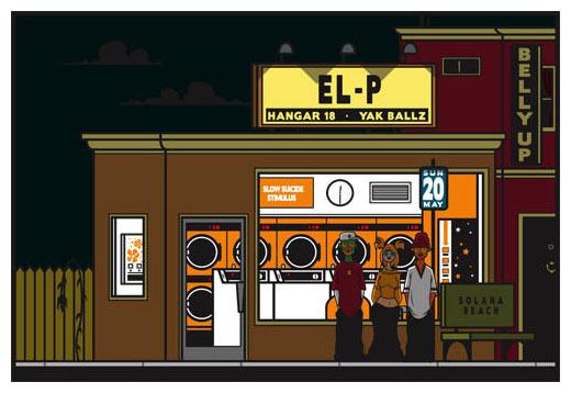 Scrojo EL-P Poster