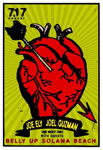 Scrojo Joe Ely Poster