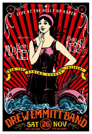Scrojo Drew Emmitt Band Poster
