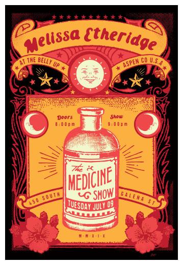 Scrojo Melissa Etheridge Poster