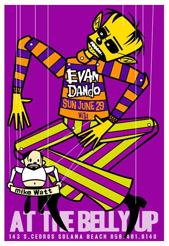 Scrojo Evan Dando Poster