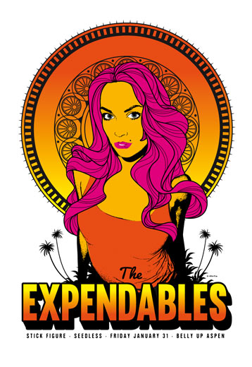 Scrojo The Expendables Poster