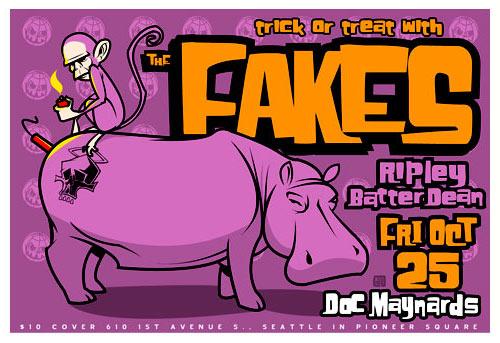 Scrojo Fakes Poster
