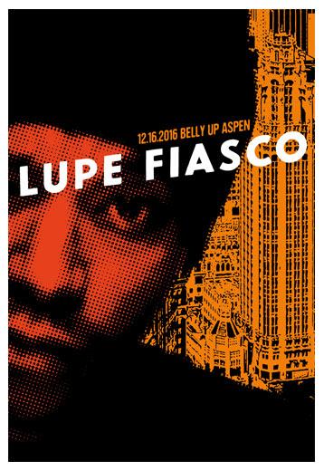 Scrojo Lupe Fiasco Poster