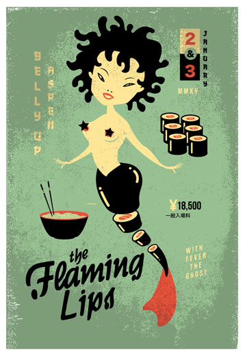 Scrojo Flaming Lips Poster