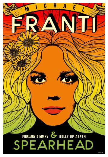 Scrojo Michael Franti and Spearhead Poster