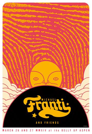 Scrojo Michael Franti and Friends Poster