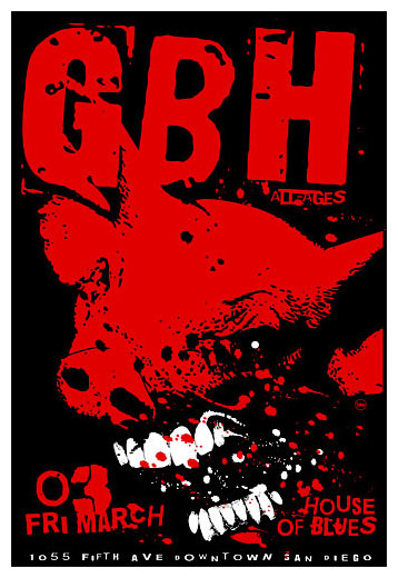 Scrojo GBH Poster